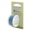 Colored copper wire Artistic Wire 0.41 mm Powder Blue x13.7m