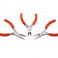 Kit of 3 Pliers Econo for jewelry - Chain nose pliers, Cutting pliers, Round nose pliers