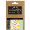 Paper Decopatch Pocket 30x40 cm - collection nr 17 x5