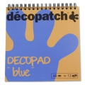 Pad Decopad by Decopatch 15x15 cm - Blue x48