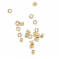 Crimp Tubes 1.2x1.6 mm 14k Gold filled x50