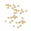 Crimp Tubes 1x1.1 mm 14k Gold filled x50