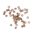 Crimp beads 1.5 mm Old Copper Tone x100