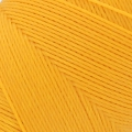 Linhasita wax thread bobbin for micro macrame 0.75 mm Golden Yellow (218) x250 m