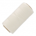 Linhasita wax thread bobbin for micro macrame 0.75 mm Natural x250m