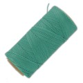 Linhasita wax thread bobbin for micro macrame 0.75 mm Green Turquoise (224) x250m