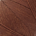 Linhasita wax thread bobbin for micro macrame 0.75 mm Marron (631) x250m