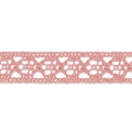 Lace ribbon spiral motif 10 mm Salmon x1m