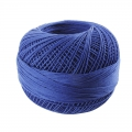 Cotton thread Lizbeth size 80 Royal Blue n°652 x168 m