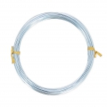 Aluminium wire 1 mm Light Blue x 12 m