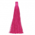 Large tassel without attachment 120 mm for decoration or jewels Fuchsia