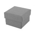 Gift box fancy jewel case 5x5x3.8 cm Grey