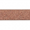 Fancy ribbon imitation leather 10 mm Copper Brown Glitter x1.2m