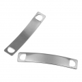 Spacer 2 holes 38.5x7 mm Stainless Steel x1