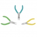 Kit of 3 Pliers professional quality for jewelry - Chain nose pliers, Cutting pliers, Round nose pliers