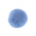 Round synthetic pompon 2 cm Light Blue x1