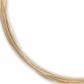 Gold filled 12K 0.5 mm flexible wire x1.5 m