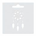 Stencil Aladine 8x8 cm for 3D Izink clay - Dream-Catcher