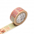 Masking Tape Christmas newspaper 20 mm - Christmas newspaper pattern x7m