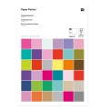 Poetry paper pad 21x30 cm Multicolored x30 sheets