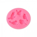 Silicone mold for polymer and metal clay - Birds
