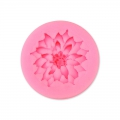 Silicone mold for polymer and metal clay - Flower
