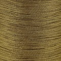 Braided nylon metallic thread 0.6 mm Gold Tone x130 m