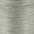 Braided nylon metallic thread 0.6 mm Silver Tone x130 m