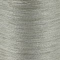 Braided nylon metallic thread 0.3 mm Silver Tone x170 m