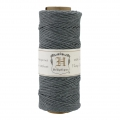 62 meters Bobbin of high quality twisted hemp Cord 1.1 mm Grey