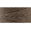 62 meters Bobbin of high quality twisted hemp Cord 1.1 mm Light Brown