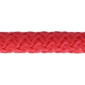 Braided cord 5 mm Light Red x1m