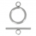 Stainless steel Toggle clasp 16 mm x1