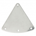 Stainless steel triangular spacer 3 holes 27 mm x4