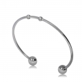 Stainless steel bangle bracelet 64x55 mm x1