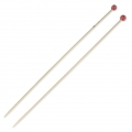 Bamboo Knitting needles 4 mm x38 cm