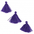 Imitation cotton tassels 26-30 mm Purple x10