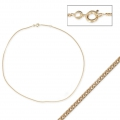 Chain chocker - Made in Europe - 1.6 mm gold plating 3 microns x45 cm