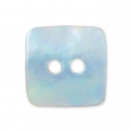 Mother-of-pearl Square button 10x10 mm Natural x1