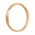 Round Mounting Ring multi-holes 30 mm Gold Tone x1