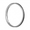Round Mounting Ring multi-holes 30 mm Old Silver Tone x1