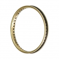 Round Mounting Ring multi-holes 30 mm Bronze Tone x1