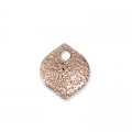 Drop sequins with a diamond effect 7 mm Rose Gold Tone x4