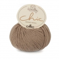 DMC Wooly Chic wool - Taupe/Silver (n°112) x 125m
