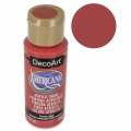 Acrylic paint high quality - DecoArt Americana  - Country Red x59 ml