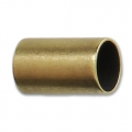 Tube bead with large hole 10x6 mm for 5 mm cord Bronze Tone x1