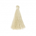 Tassel imitation silk 40 mm Cream