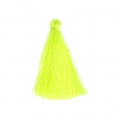 Tassel imitation silk 40 mm Neon Yellow