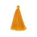 Tassel imitation silk 40 mm Yellow