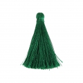 Tassel imitation silk 40 mm Green